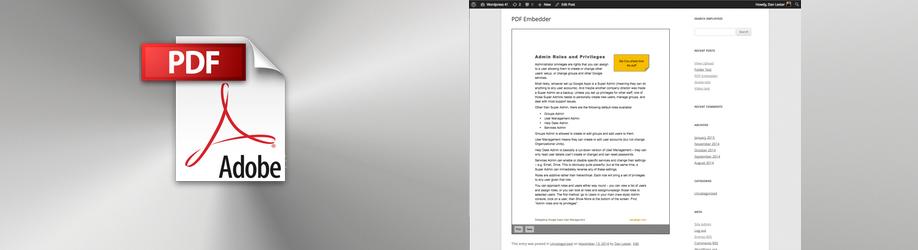 PDF Embedder Free | PDF Plugins for WordPress