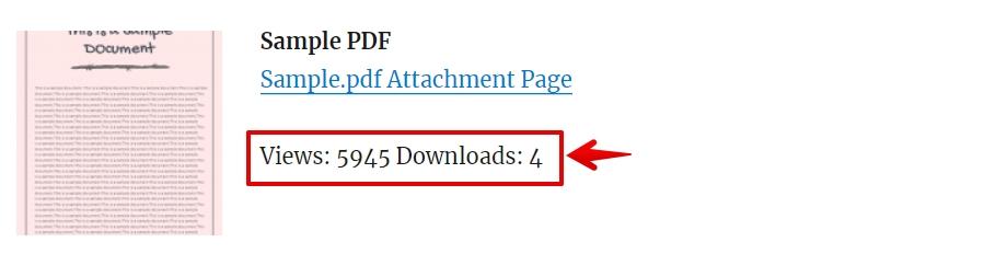 DownloadViews statsPage