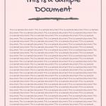 SAMPLE pdf image